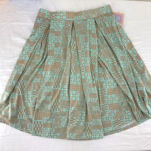 Lularoe Madison Skirt Size L New